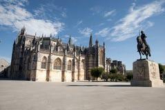 Monastero di Batalha, Portogallo Fotografia Stock Libera da Diritti