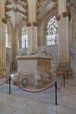 Monastero di Batalha. Tomba gotica fotografia stock libera da diritti