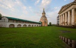 Monastero di Borisoglebsky della città antica di Toržok Fotografia Stock Libera da Diritti