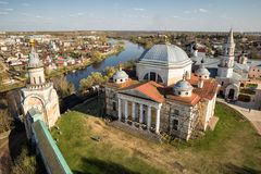 Monastero di Borisoglebsky, Toržok, Russia Fotografia Stock