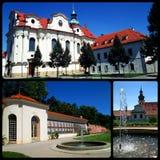 Monastero di Brevnov Fotografie Stock