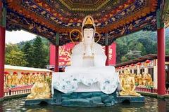 Monastero di Buddhas di diecimila Fotografia Stock Libera da Diritti