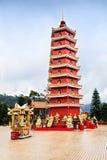 Monastero di buddhas di diecimila Fotografie Stock Libere da Diritti