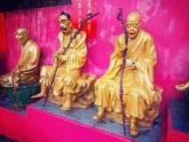 Monastero di Buddhas di diecimila in Hong Kong Fotografie Stock Libere da Diritti