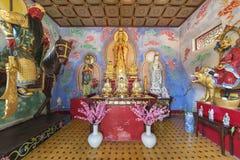 Monastero di Buddhas di diecimila in Hong Kong, Cina Fotografia Stock Libera da Diritti