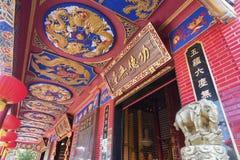 Monastero di Buddhas di diecimila in Hong Kong, Cina Fotografie Stock