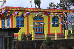 Monastero di Buddist Immagine Stock