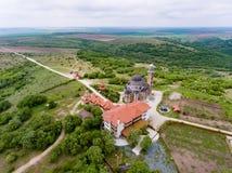 Monastero di Casian vicino a Costanza in Dobrogea Romania osservata da fotografie stock