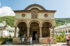 Monastero di Cozia Immagine Stock