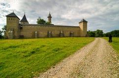 Monastero di Dragomirna, Romania fotografia stock libera da diritti