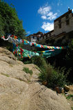 Monastero di Drepung Fotografie Stock