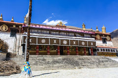 Monastero di Drepung Fotografia Stock