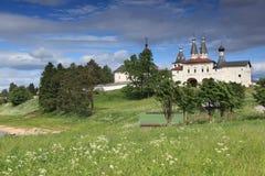 Monastero di Ferapontovo in Russia Fotografie Stock Libere da Diritti
