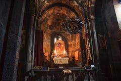 Monastero di Geghard dell'armeno Fotografie Stock