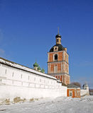 Monastero di Goritsky di Dormition Immagine Stock Libera da Diritti