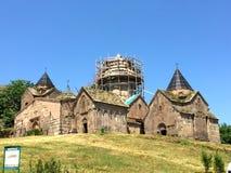 Monastero di Goshavank, Armenia Fotografie Stock Libere da Diritti