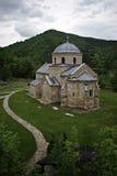 Monastero di Gradac Fotografia Stock Libera da Diritti