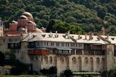 Monastero di Hilandar Immagini Stock Libere da Diritti