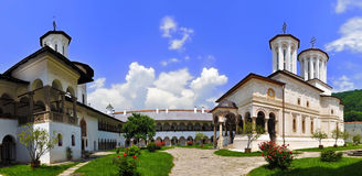 Monastero di Horezu Fotografia Stock