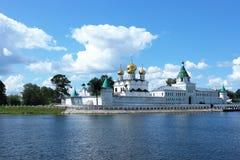 Monastero di Ipatyevsky, Kostroma, Russia fotografie stock