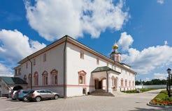 Monastero di Iversky nella regione di Novgorod Fotografia Stock Libera da Diritti