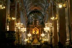 Monastero di Jasna Gora Fotografie Stock Libere da Diritti