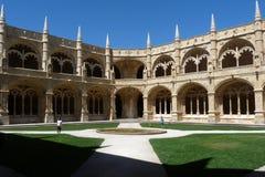 Monastero di Jeronimos Fotografia Stock