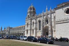 Monastero di Jeronimos Fotografia Stock Libera da Diritti