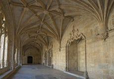 Monastero di Jeronimos, Liboa, Portogallo Fotografia Stock Libera da Diritti