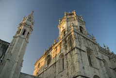 Monastero di Jeronimos, Liboa, Portogallo Fotografie Stock