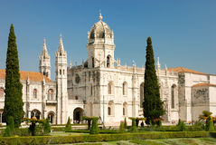Monastero di Jeronimos a Lisbona Immagine Stock Libera da Diritti