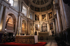 Monastero di Jeronimos a Lisbona immagini stock