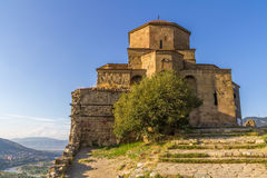 Monastero di Jvari Immagine Stock