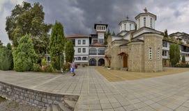 Monastero di Kalishta, Struga, Macedonia immagini stock