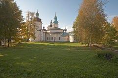Monastero di Kirillo-Belozerskij. Immagini Stock