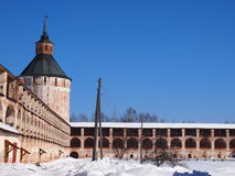 Monastero di Kirillo-Belozersky Fotografia Stock