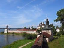 Monastero di Kirilo-Belozersky. Immagini Stock Libere da Diritti