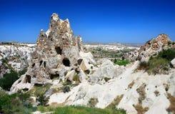 Monastero di Kizlar (Goreme) Fotografie Stock