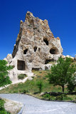 Monastero di Kizlar in Goreme (Cappadocia, Turchia) Immagine Stock Libera da Diritti