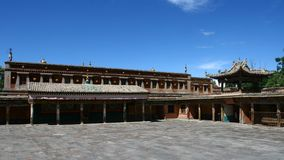 Monastero di Kumbum Immagine Stock Libera da Diritti