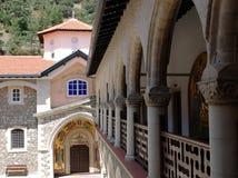 Monastero di Kykkos immagini stock