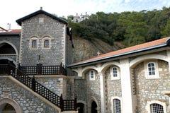 Monastero di Kykkos fotografie stock libere da diritti