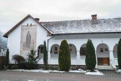 Monastero di Lainici Immagine Stock Libera da Diritti