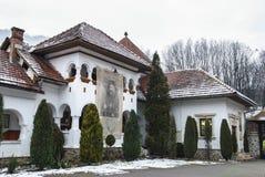 Monastero di Lainici Fotografia Stock Libera da Diritti