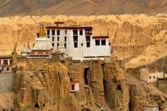 Monastero di Lamayuru, Ladakh, il Jammu e Kashmir, India Immagini Stock Libere da Diritti
