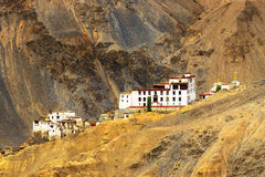 Monastero di Lamayuru, Ladakh, il Jammu e Kashmir, India Fotografia Stock Libera da Diritti