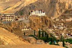 Monastero di Lamayuru, Ladakh, il Jammu e Kashmir, India Immagine Stock Libera da Diritti