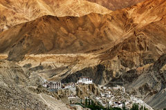 Monastero di Lamayuru, Ladakh, il Jammu e Kashmir, India Immagine Stock