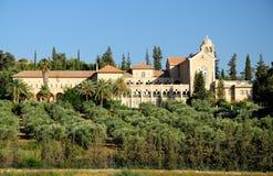 Monastero di Latrun. fotografia stock libera da diritti