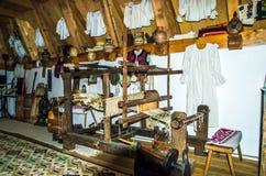 Monastero di legno di Barsana, Maramures, Romania Immagine Stock Libera da Diritti